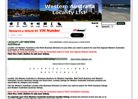 westernaustralia.localitylist.com.au