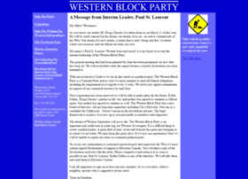 westernblockparty.com