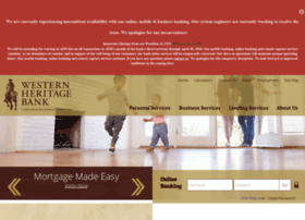 westernheritagebank.com