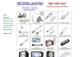 westernlightingsupply.com