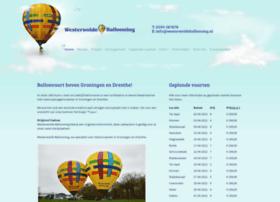 westerwoldeballooning.nl