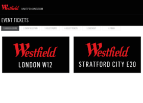 westfieldtickets.com