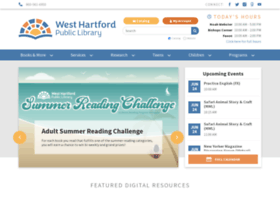 westhartfordlibrary.org