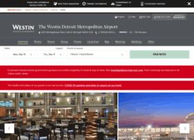 westindetroitmetroairport.com