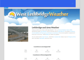 westlethbridgeweather.com