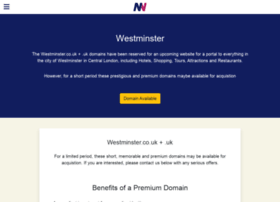 westminster.co.uk