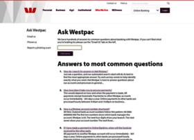 westpac.custhelp.com