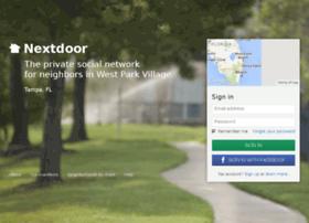westparkvillagefl.nextdoor.com