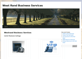 westrandservices.co.za