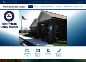 westwilsonutility.com