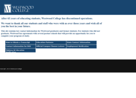 westwood.edu