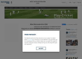 westworcscdg.play-cricket.com