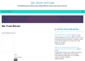 wetrustbitcoin.info