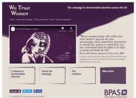 wetrustwomen.org.uk