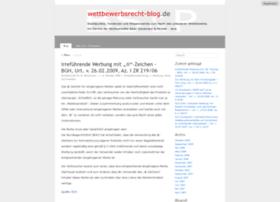 wettbewerbsrecht-blog.de