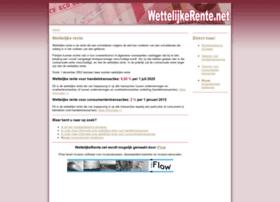wettelijkerente.net