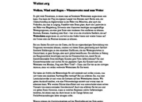 wetter.org