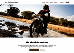 wewantadventure.com