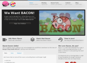 wewantbacon.co.za