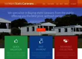 wewantstaticcaravans.co.uk