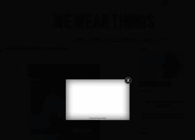 wewearthings.com