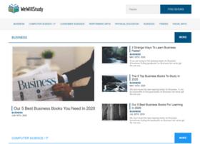 wewillstudy.com