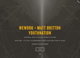 weworkmattbritton-youthnation.splashthat.com