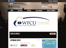 wfcu-centre.com
