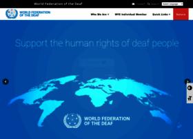 wfdeaf.org