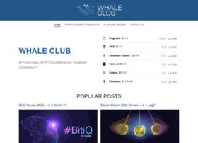 whaleclub.co