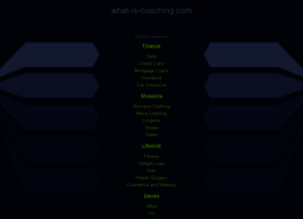 what-is-coaching.com