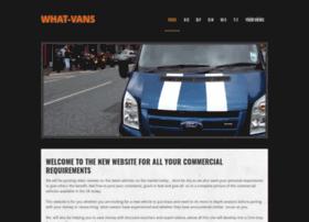 what-vans.co.uk