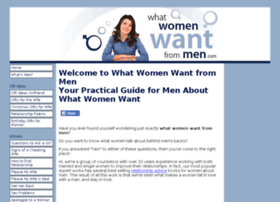 what-women-want-from-men.com