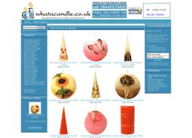 whatacandle.co.uk