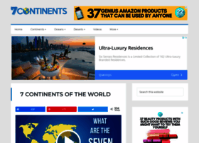 whatarethe7continents.com