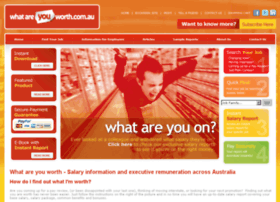 whatareyouworth.com.au