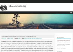 whatawebsite.org