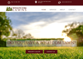whatcomlawns.com