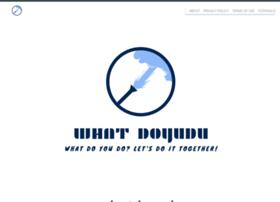 Whatdoyudu.com