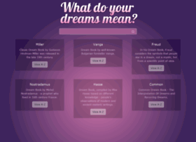 whatdreamsmeans.com