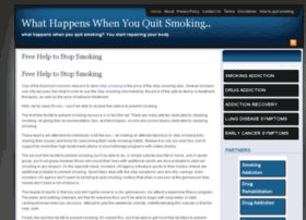 whathappenswhenyouquitsmoking.net