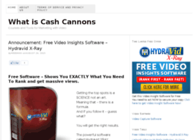whatiscashcannons.com