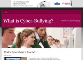 whatiscyberbullying.bravesites.com