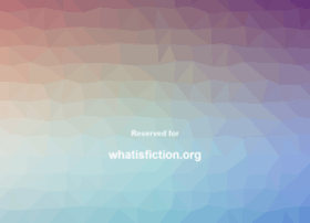 whatisfiction.org