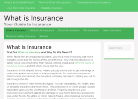 whatisinsurance.org