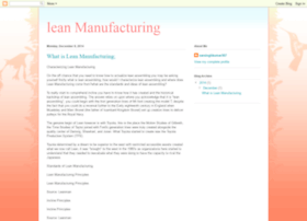 whatislean-manufacturing.blogspot.com