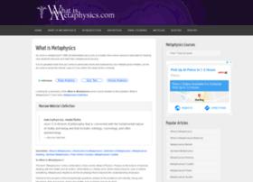 whatismetaphysics.com