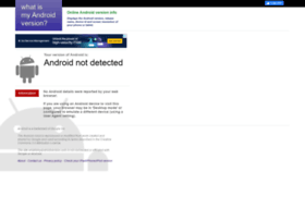 whatismyandroidversion.com