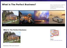 whatistheperfectbusiness.com