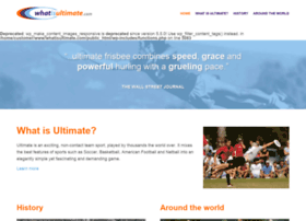 whatisultimate.com